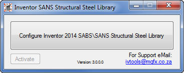 sans-steel-step-5 SANS Steel library setup for Inventor