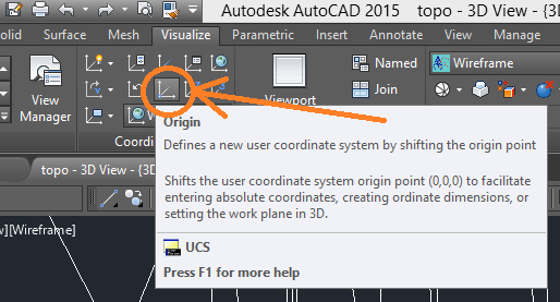 create-a-polyline 3D Printing a Revit Toposurface using AutoCAD