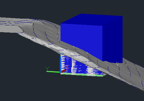 extrude-polyline 3D Printing a Revit Toposurface using AutoCAD