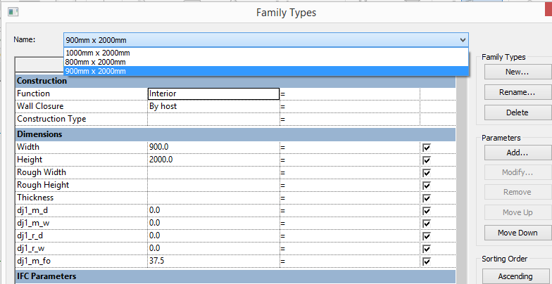 Nesting The Profile Family In A Door Family - Revit