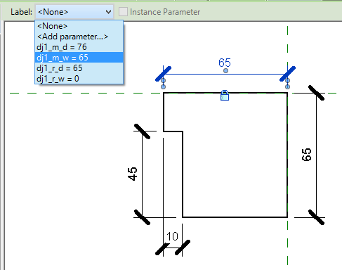 Creating door jamb and architrave profiles in Revit