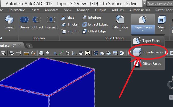 topo-3d-view 3D Printing a Revit Toposurface using AutoCAD