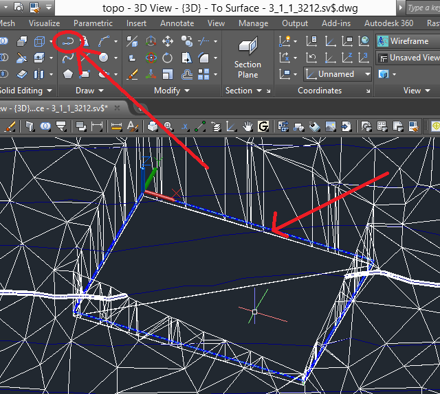 toposurface-2 3D Printing a Revit Toposurface using AutoCAD