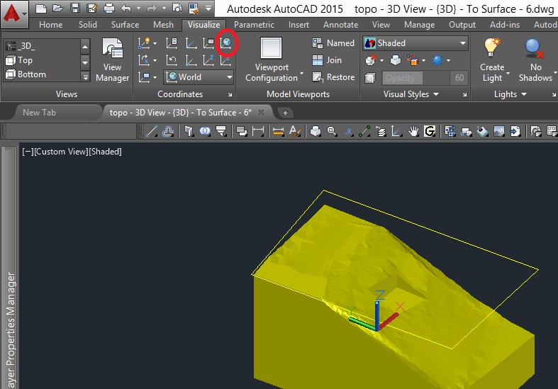 world-coordinates 3D Printing a Revit Toposurface using AutoCAD