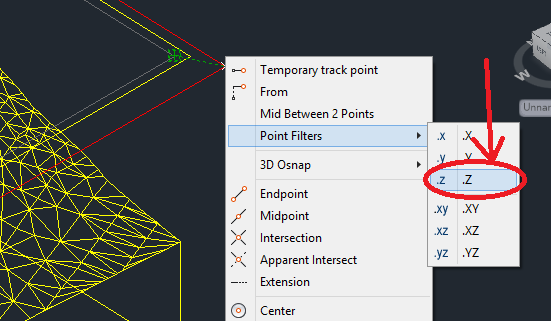 z-point-filter 3D Printing a Revit Toposurface using AutoCAD