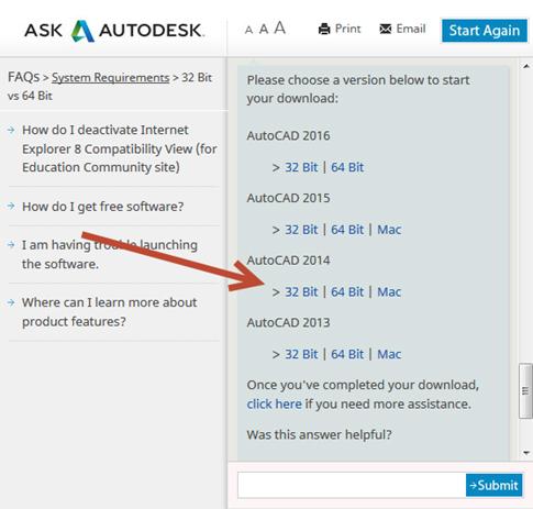free download autocad 2013 full version 64bit and 32bit keygen