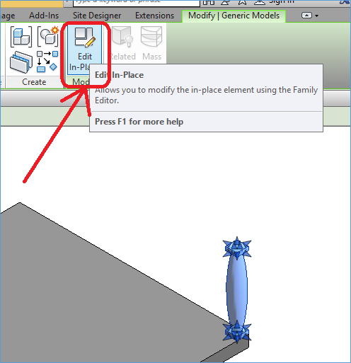 how to create family in revit