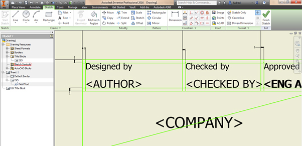 Inventor-Title-Blocks-02 Updating Title Blocks in Inventor Drawing files