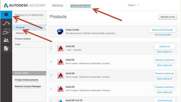 How to request your Autodesk Installation Media