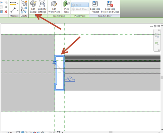 Revit-Family-in-plan-view-02 How to Fix a Revit Family in plan view