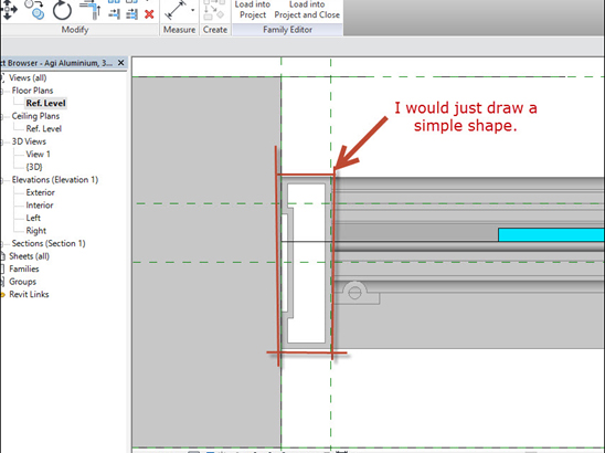 Revit-Family-in-plan-view-03 How to Fix a Revit Family in plan view