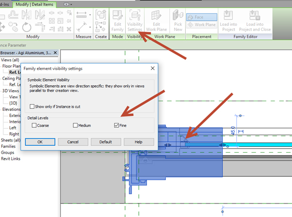 Revit-Family-in-plan-view-07 How to Fix a Revit Family in plan view