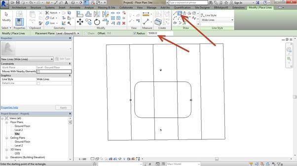 flat-site-Revit-using-Site-Designer-02 How to create a flat site Revit using Site Designer. (Part 1 of 2)