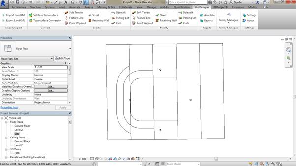 flat-site-Revit-using-Site-Designer-06 How to create a flat site Revit using Site Designer. (Part 1 of 2)