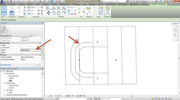 flat-site-Revit-using-Site-Designer-07 How to create a flat site Revit using Site Designer. (Part 1 of 2)