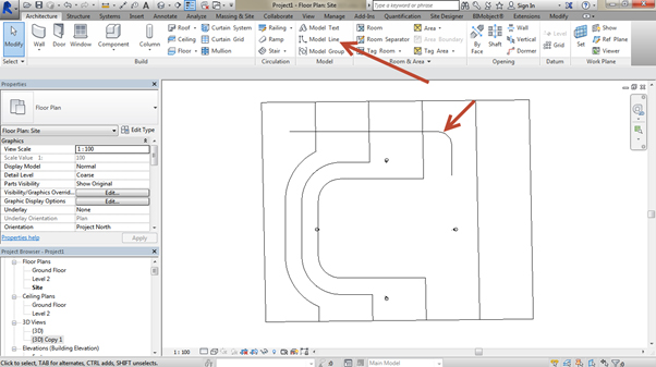 flat-site-Revit-using-Site-Designer-09 How to create a road on an existing site using the Site Designer (Part 2 of 2)