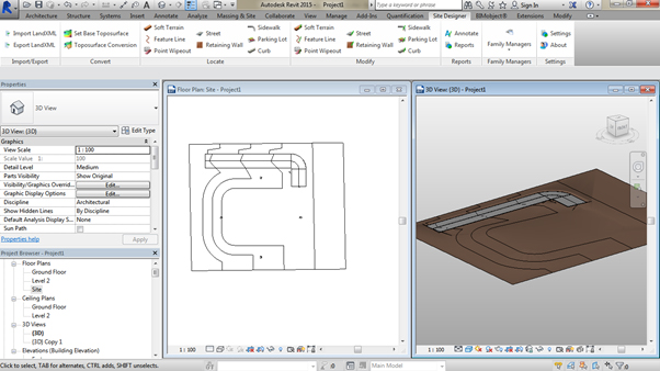 flat-site-Revit-using-Site-Designer-13 How to create a road on an existing site using the Site Designer (Part 2 of 2)
