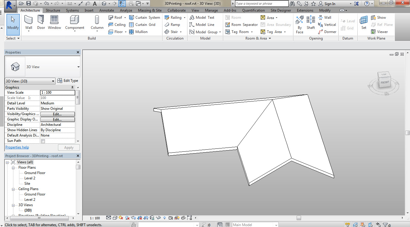 3D-Printing-a-Revit-Building-02 How to 3D Print a Revit Building