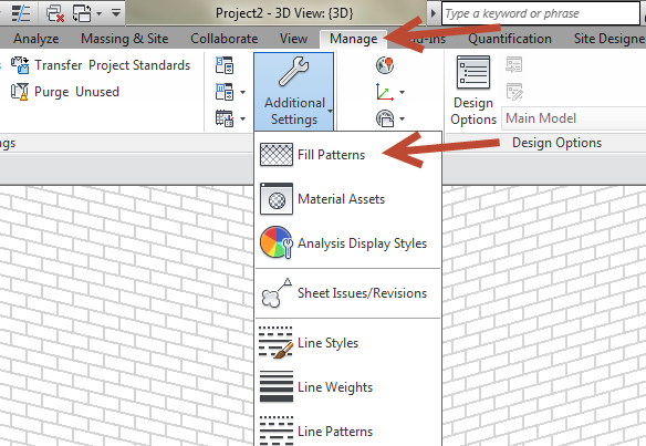 Changing a Revit Fill Pattern scale 02