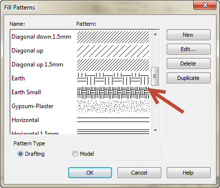 Changing a Revit Fill Pattern scale 07