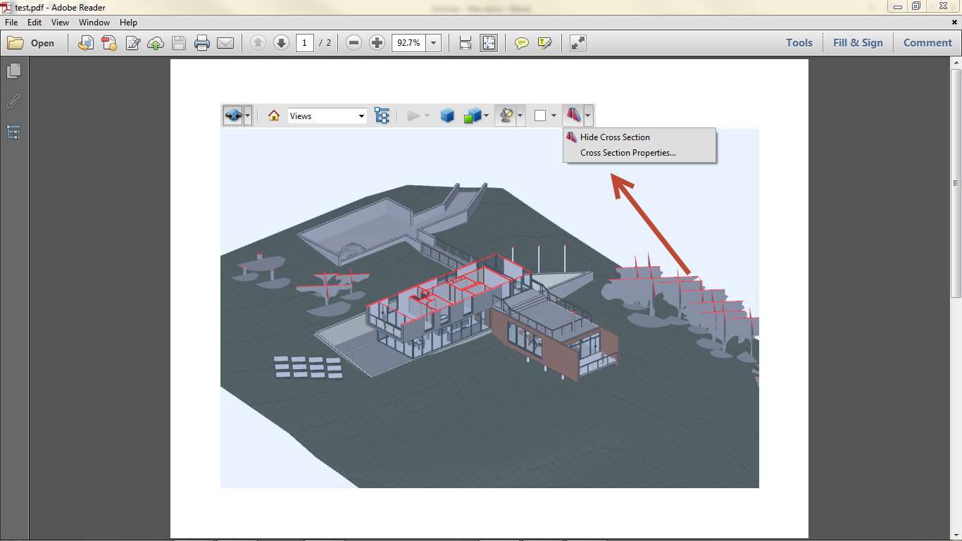 Export Revit Models to 3D PDF SimLab 10
