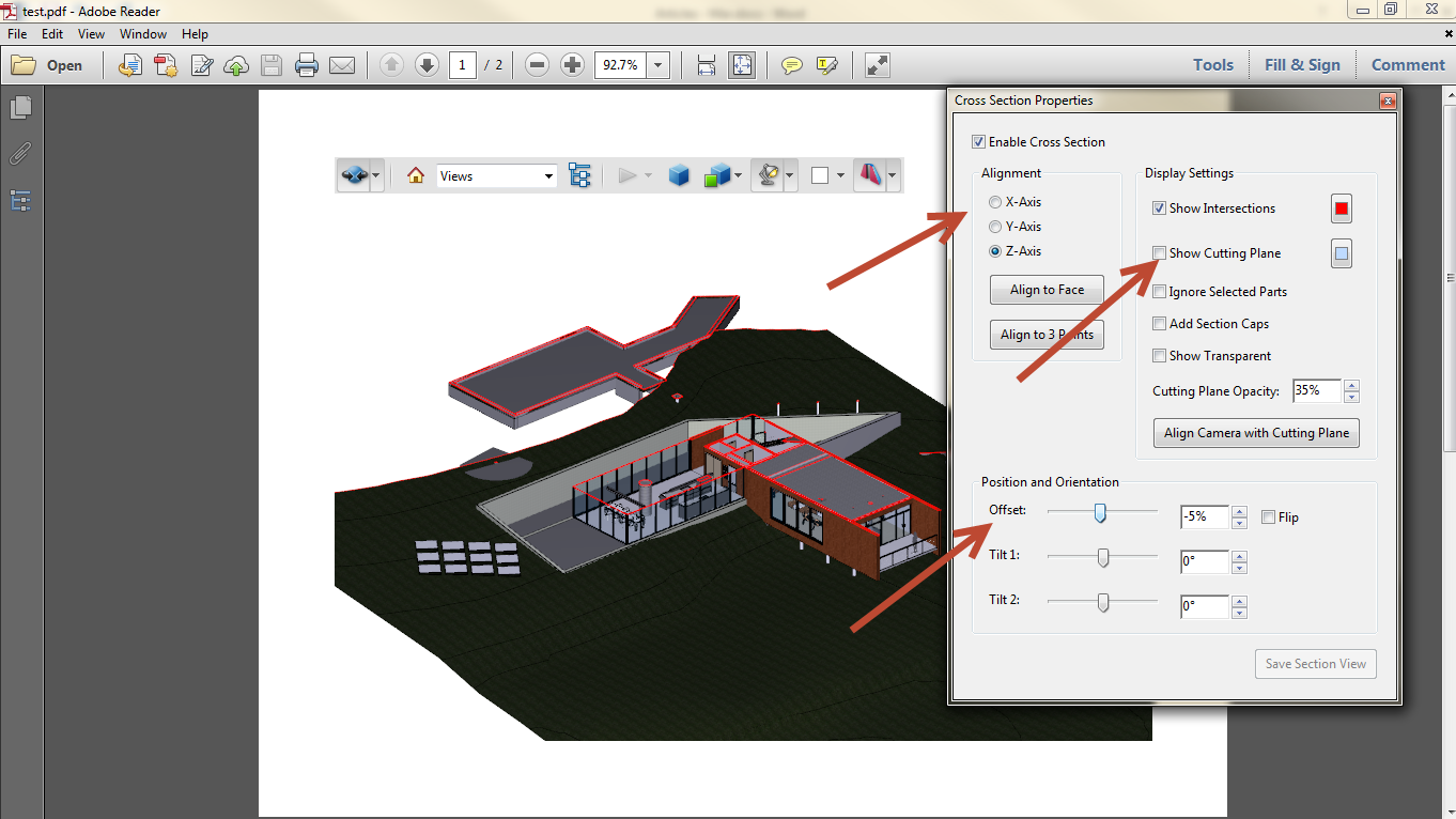 Export Revit Models to 3D PDF SimLab 11