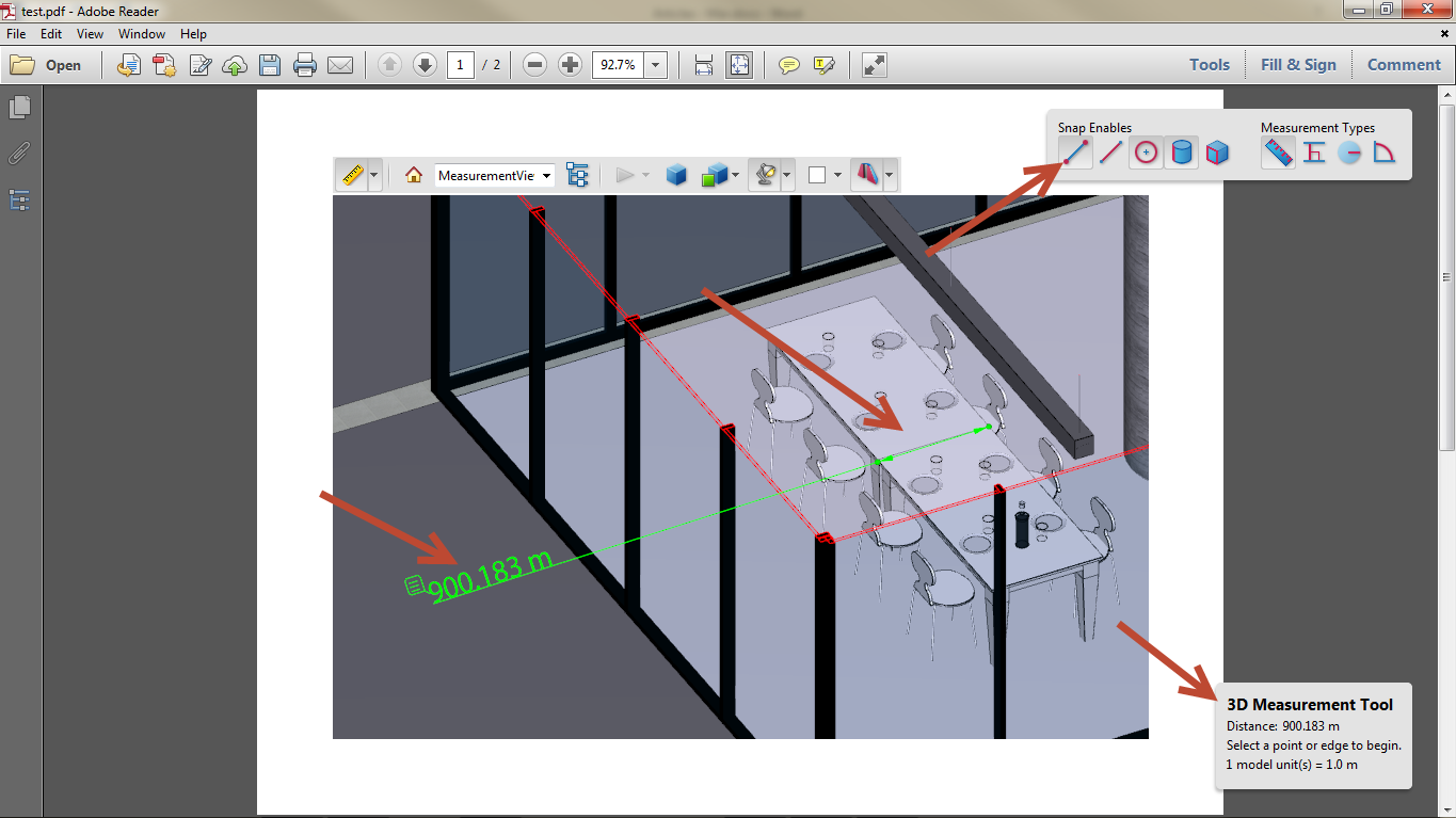 Export Revit Models to 3D PDF SimLab 14