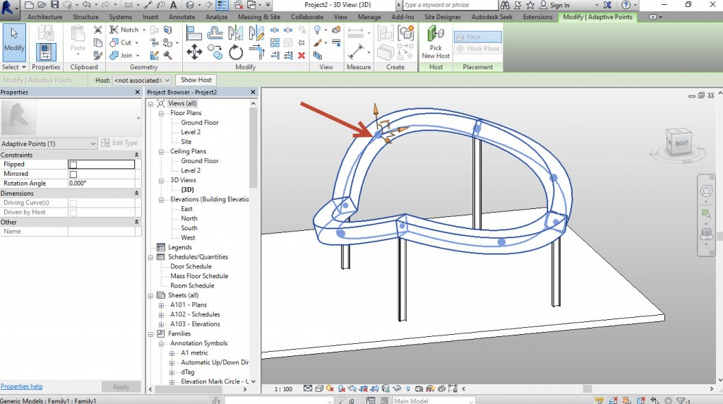 13-You-can-adjust-any-of-the-4-Shape-Handle-points-1024x572 Creating a generic adaptive component in Revit