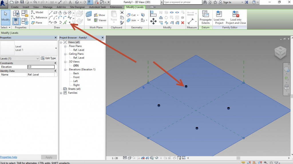 3-Place-points-1024x573 Creating a generic adaptive component in Revit