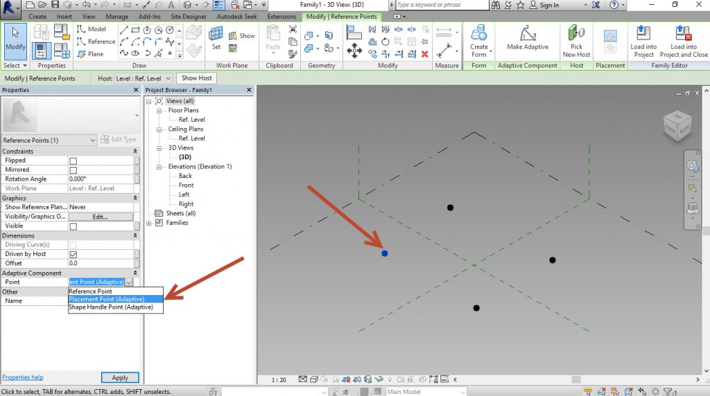 4-Change-the-points-to-Placement-Points-1024x572 Creating a generic adaptive component in Revit