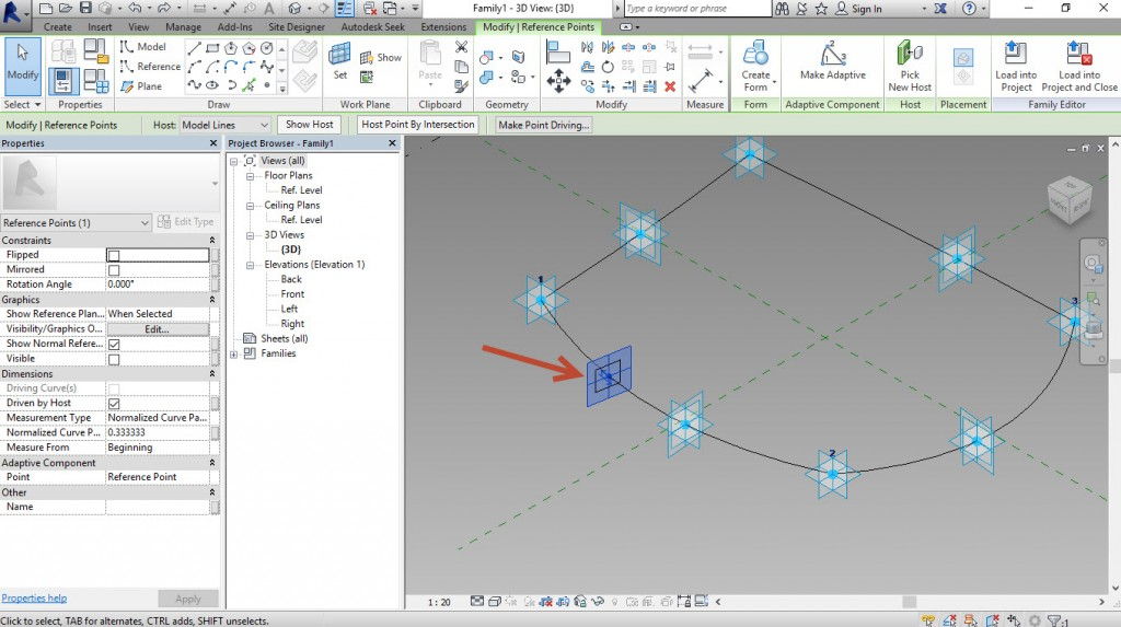 9-Create-a-point-select-Point-and-create-rectangle-1024x573 Creating a generic adaptive component in Revit