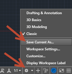 1-9 Adding an old Classic Toolbar into AutoCAD's ribbon.