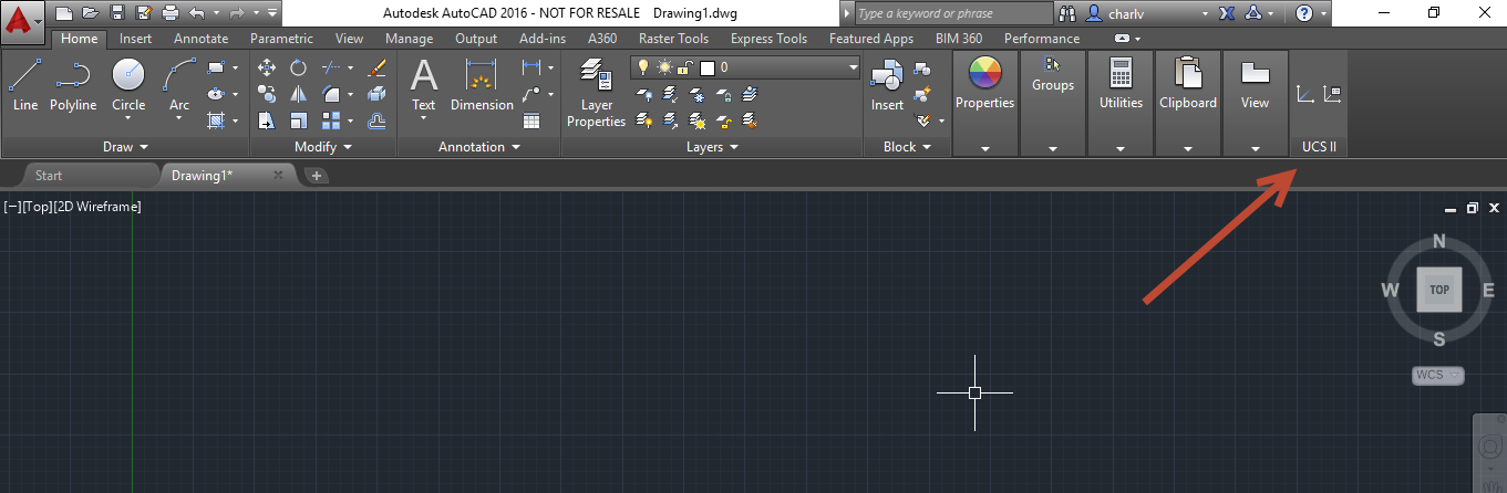10-4 Adding an old Classic Toolbar into AutoCAD's ribbon.