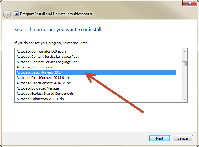 11-2 How to uninstall Autodesk Products that don't want to uninstall in Windows Control Panel.