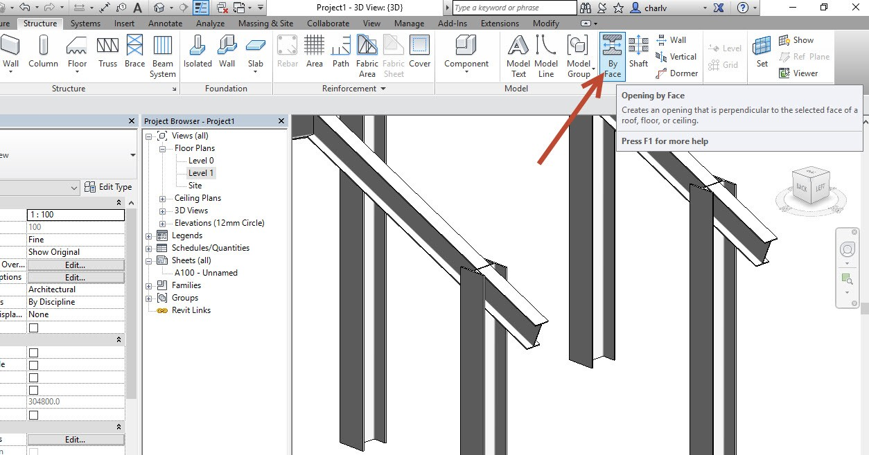 2 How to Copy a Revit Beam opening from one beam to the next.