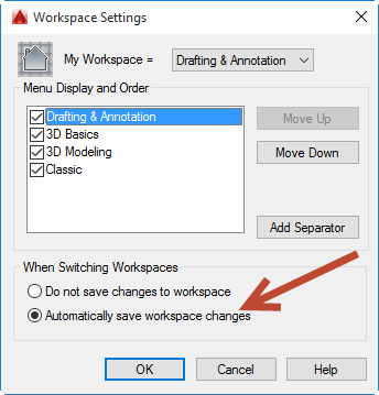 Adding an old Classic Toolbar into AutoCAD's ribbon