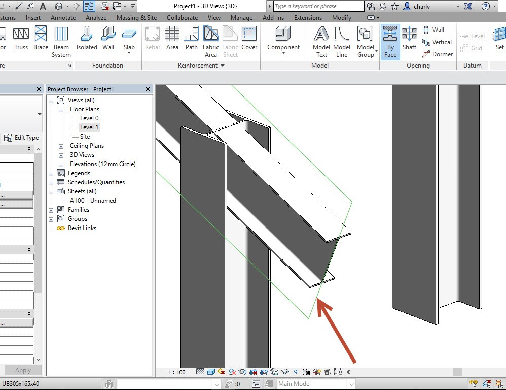 3 How to Copy a Revit Beam opening from one beam to the next.