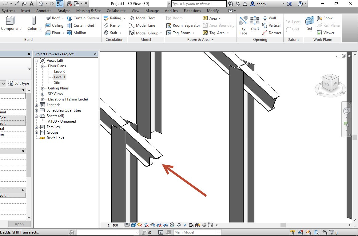 6 How to Copy a Revit Beam opening from one beam to the next.
