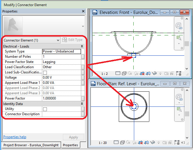 Ceiling-Based-Downlight-in-Revit-36 Ceiling Based Downlight Using IES file from Manufacturer