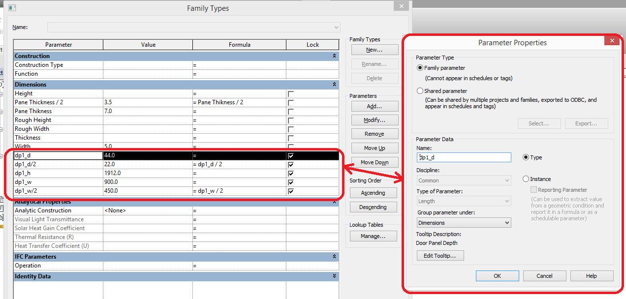 Define-Door-Panel-Family-3 Define Door Panel Family