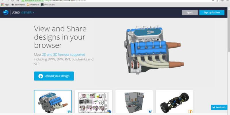 Autodesk Online Cad Viewer