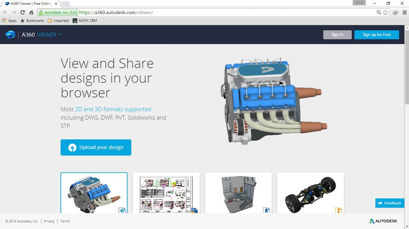 CAD-Viewer-2 Autodesk Online CAD Viewer