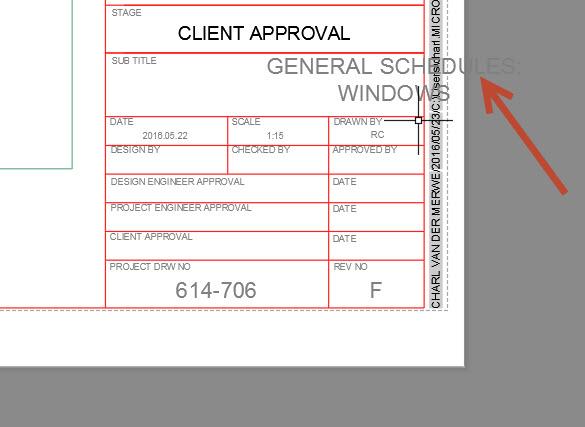 ray1 AutoCAD titleblock attribute issue