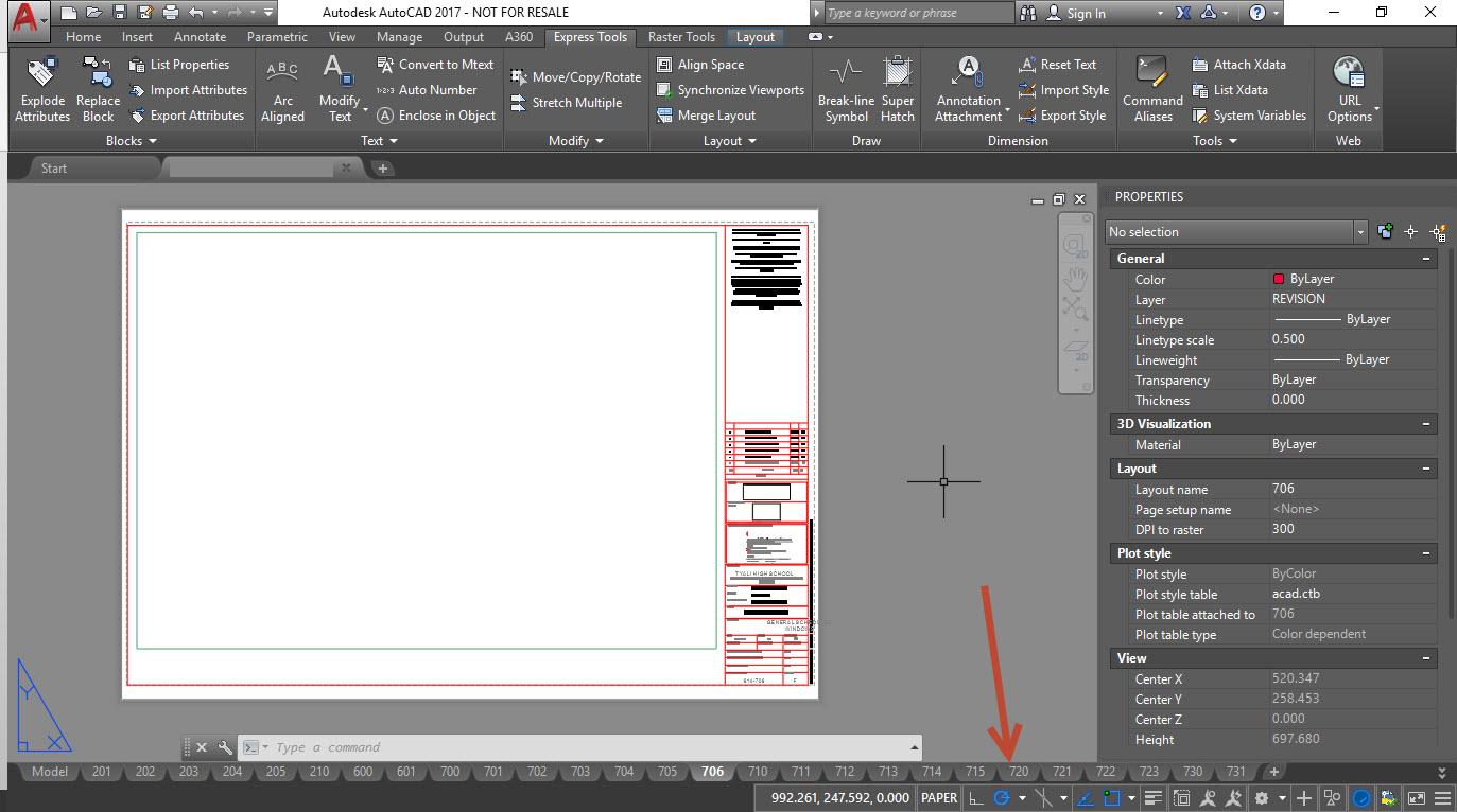 ray2 AutoCAD titleblock attribute issue