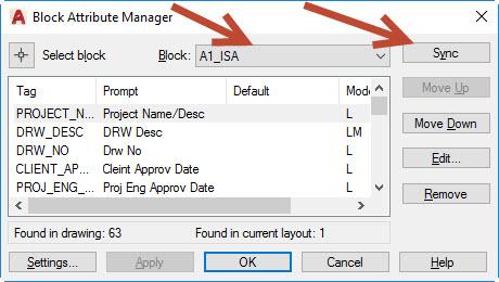 ray3 AutoCAD titleblock attribute issue