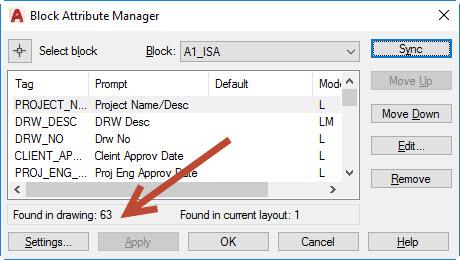 ray4 AutoCAD titleblock attribute issue