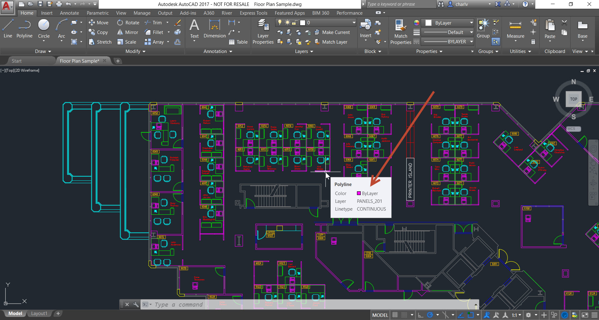 1-1 How to count lengths of objects in AutoCAD