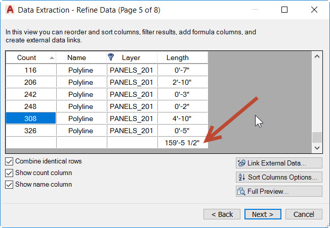 13 How to count lengths of objects in AutoCAD