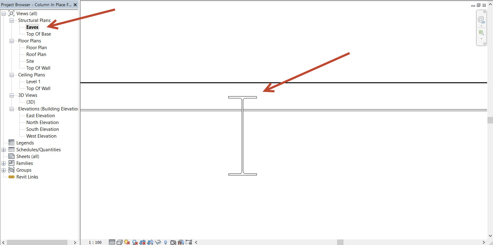 Revit Show hidden tool - Different example | Blog