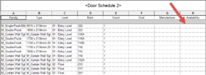 11-300x109 Revit Schedule Boolean Yes/No